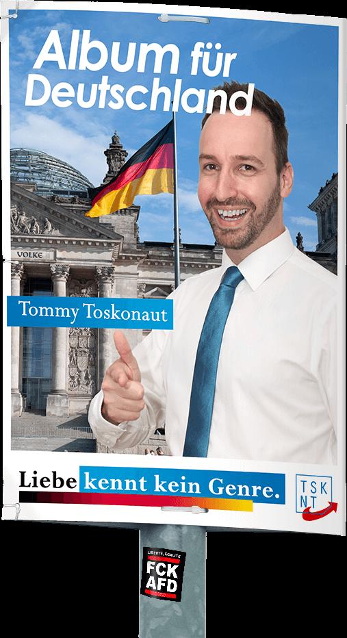 Album für Deutschland Plakat